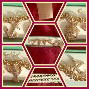 Jewelry - Max & Zoe Beautiful Ocean Bracelet NIB